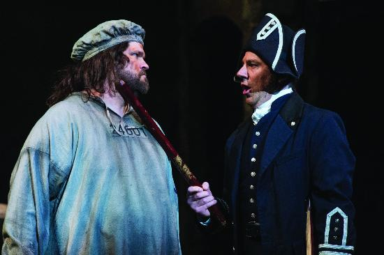 Utah Shakespeare Festival: J. MICHAEL BAILEY AND BRIAN VAUGHN in LES MISERABLES