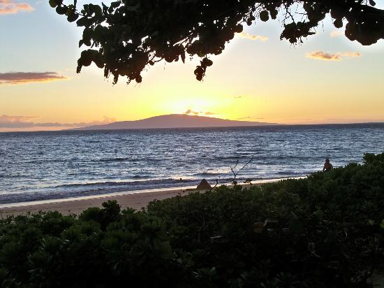Dolphins Point Maui : Summer Kihei Sunset; you'll never get tired of seeing this!