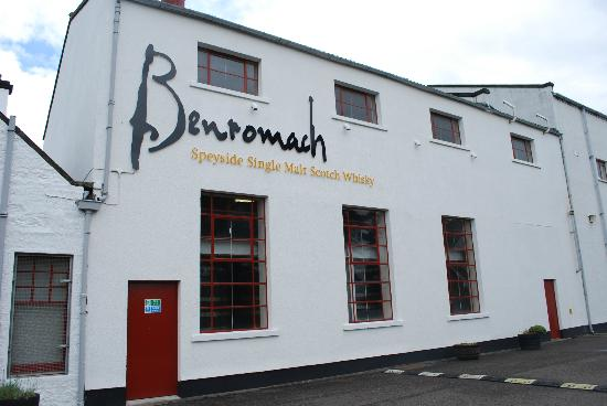 The Benromach Distillery, Forres