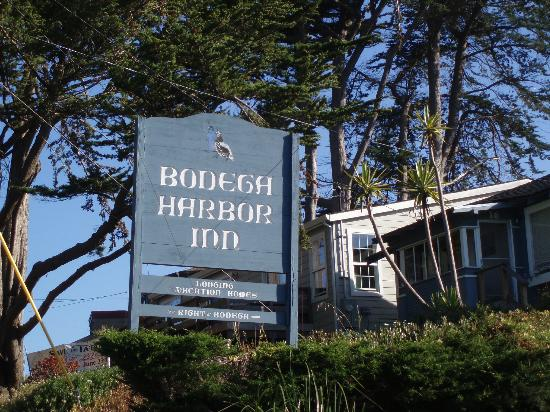 Bodega Harbor Inn: View from the road