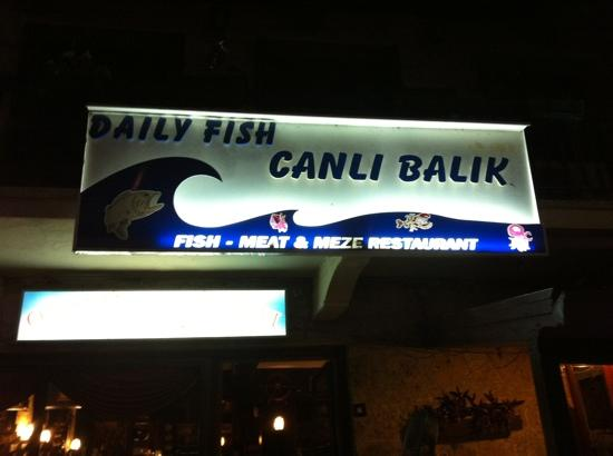 Canli Balik : just in case you miss the place