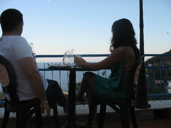 Sogni Nel Blu: aperitivo in terrazza