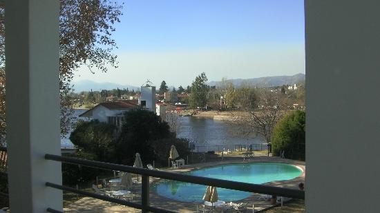 Hostal de la Costa: Lago visto desde la habitación