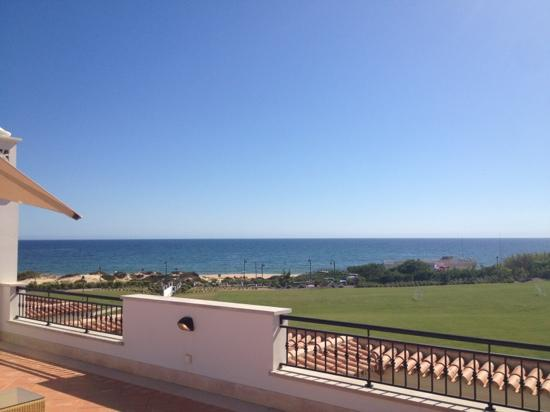 Dunas Douradas Beach Club: view from upstairs in 1st floor 3 bed apartment.