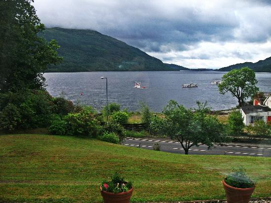 Lomond View Country House: View from the breakfast room