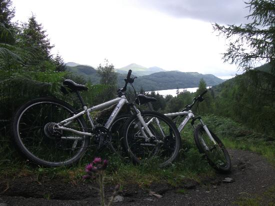 Lomond View Country House: Recommended route - Argyll Forest Park