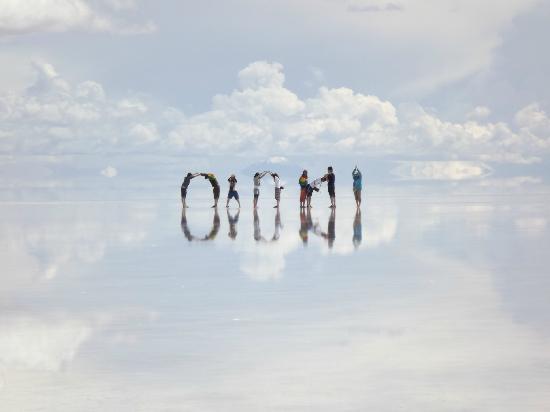 Salar de Uyuni: sin palabras
