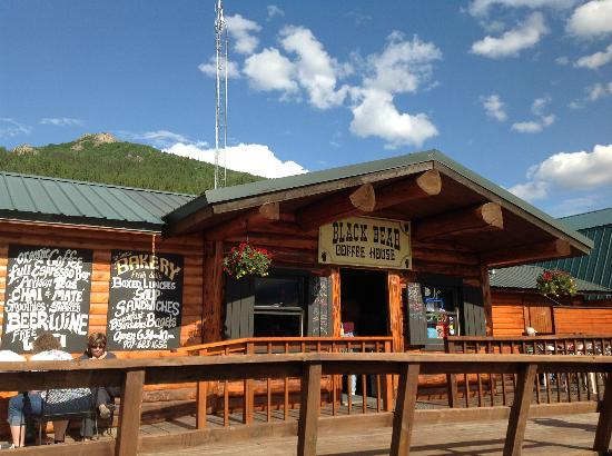 Black Bear Coffee House : Black Bear and Mt. Sugarloaf