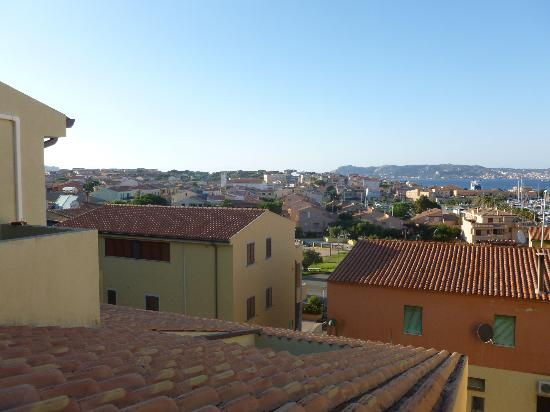 Hotel Piccada: View from our balcony of Palau