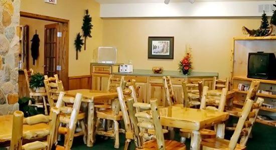 Walker Hotel: Breakfast Area