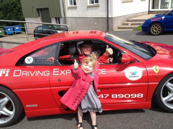 Rally School Ireland: All's good with the Ferrari Grandad!!
