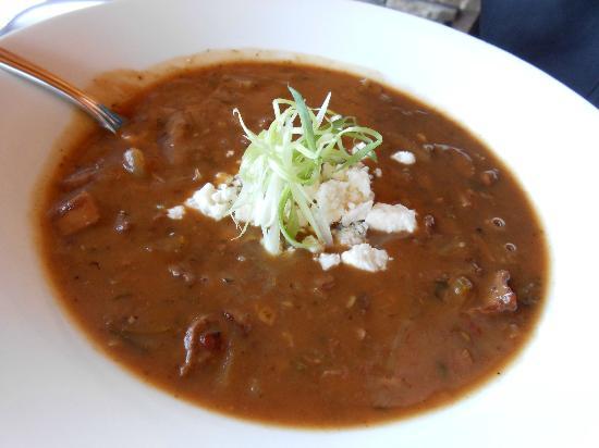 Gallatin River Grill: onion soup