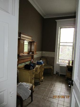Bed & Breakfast Mont Morris : particolare della stanza da bagno