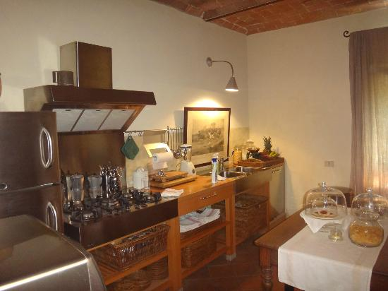 La Locanda di Villa Toscana: The fabulous kitchen