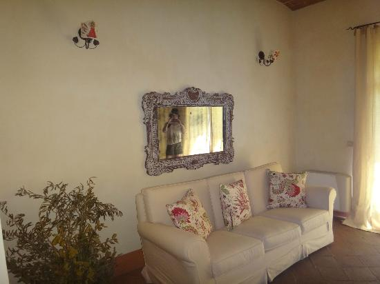 La Locanda di Villa Toscana: Part of one of the two suites