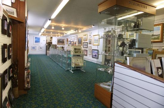 Inverbeg Galleries: part of the gallery