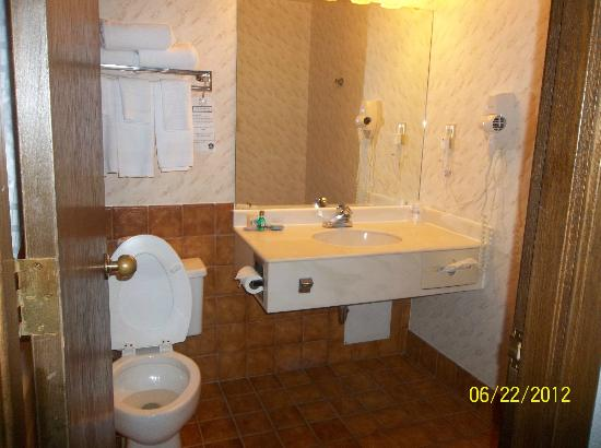 Midway Hotel & Suites Brookfield: Bathroom