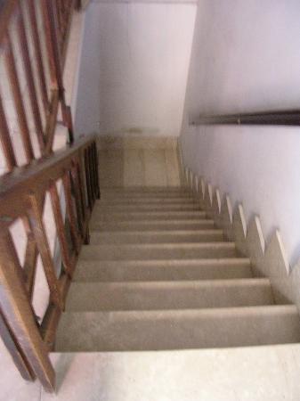 Ca' Barba  Apartment: Stairwell to apartment.