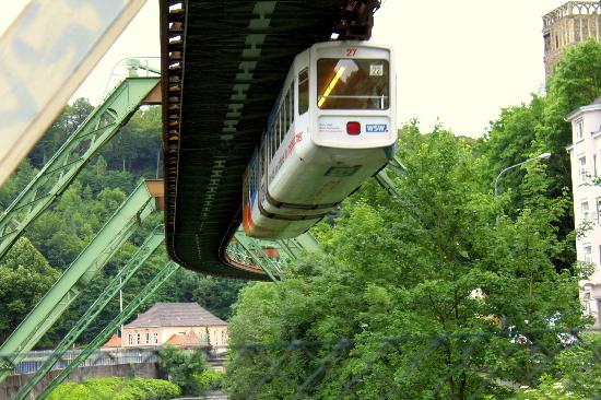 Wuppertal Schwebebahn Picture of The Wuppertal Suspension Railway