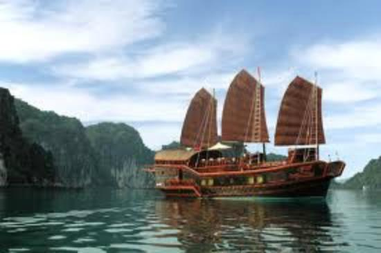 Halong Continental Sails Day Cruise: Red Dragon