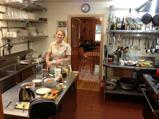 The Culinary Institute of the Fireweed Station Inn