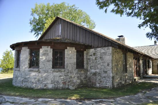 Point Beach State Forest: Nature center/concession building