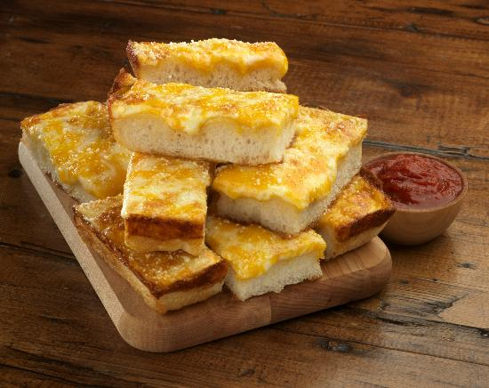 Jet's Pizza Fort Lauderdale: Triple Cheese Turbo Stix.