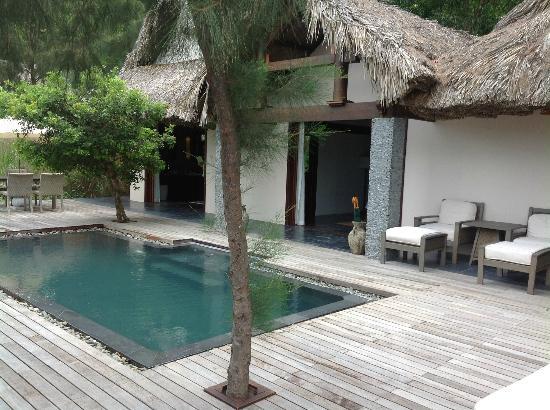 L'Alyana Ninh Van Bay: View of Beach Villa #7