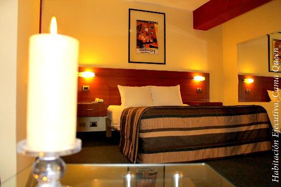 Hotel Vila Santa Miraflores: Habitación Ejecutiva, Cama Queen