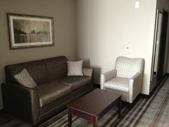 Comfort Suites Hudson: Sitting area