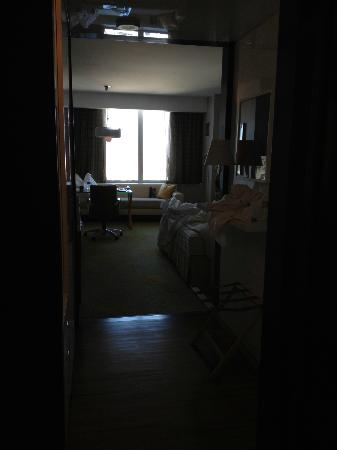 The Ritz-Carlton, Los Angeles: View of room from door