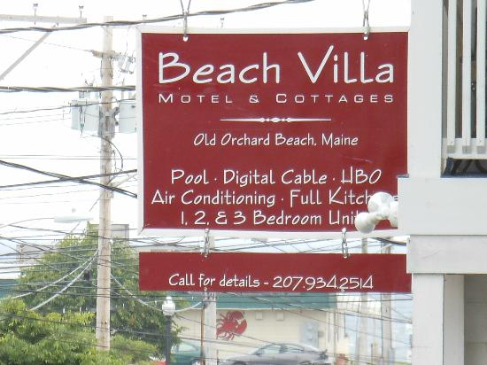 Beach Villa Motel & Cottages: Stayed in C1