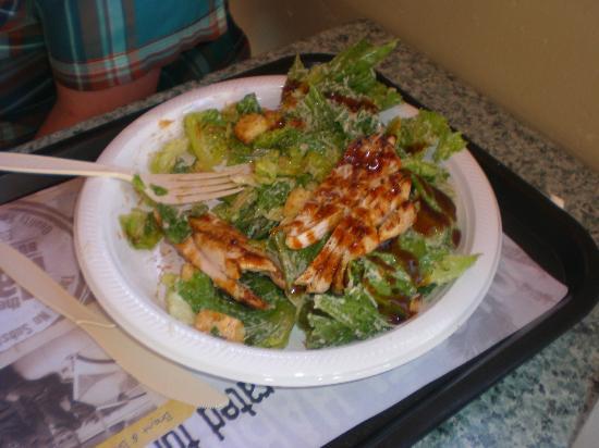 The Habit Burger Grill: Chicken Caesar Salad with Teriyaki Sauce