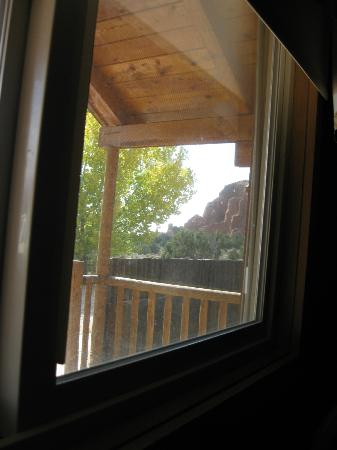 Bryce Canyon Villas: View from cabin