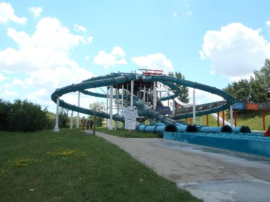 Wild Water Kingdom: 4 of the 14 slides