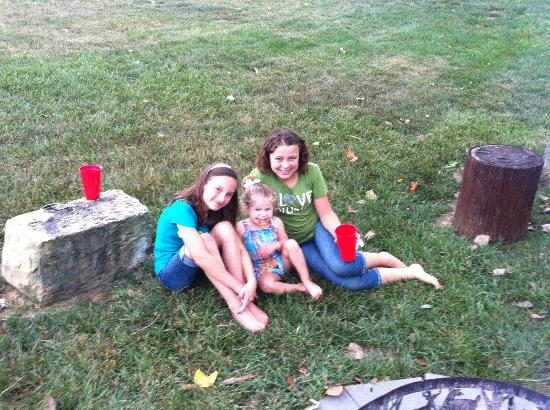 Santa's Lakeside Cottages: The Fire Pit