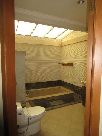 Dayang Sumbi Resort: bathroom