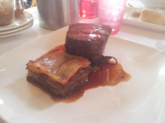 Morning Star Estate: Eye fillet and potato gratin with slow roated beef