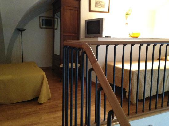 Residence La Contessina: The beds on the upper floor