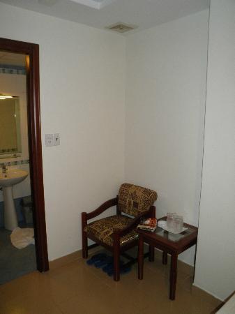 ラック ビエン ホテル, 客室の椅子