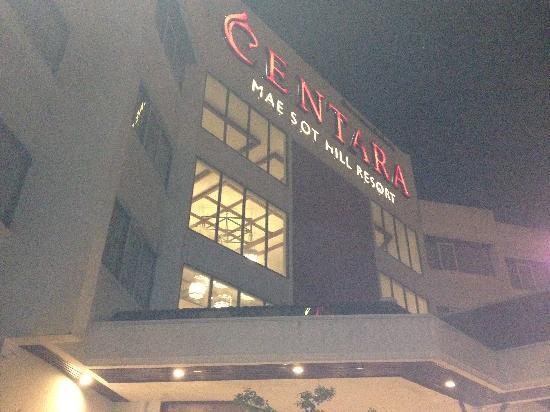 Centara Mae Sot Hill Resort: Mae sot hotel