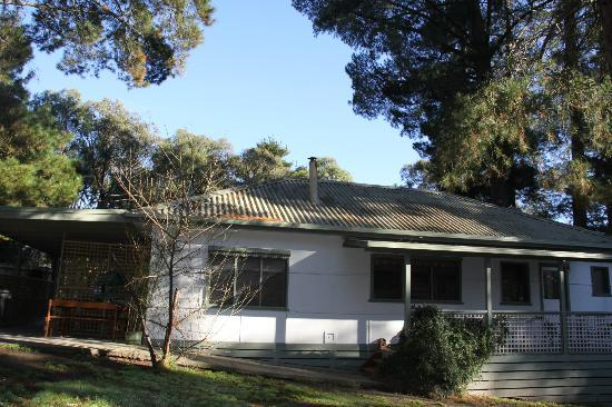 Healesville Garden Accommodation: The cottage from outside