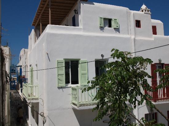 Fraskoula's Rooms: CHORA MYKONOS CENTER