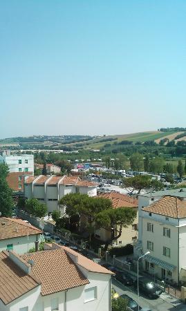 Hotel Europa: panorama dalla camera 502