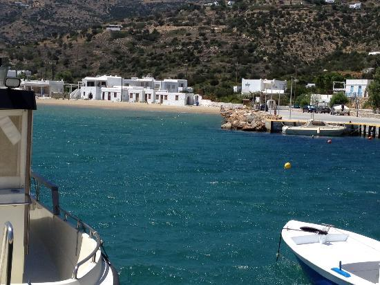 Pension Ageliki: Platis Giados-Southeast side of Sifnos
