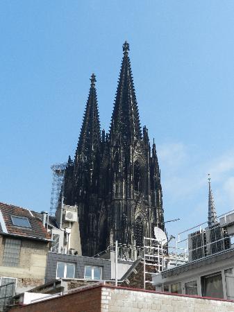 Callas Am Dom: uitzicht vanaf het dakterras van de kamer