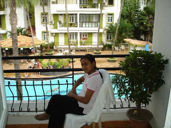 Alor Grande Holiday Resort: Room's Balcony