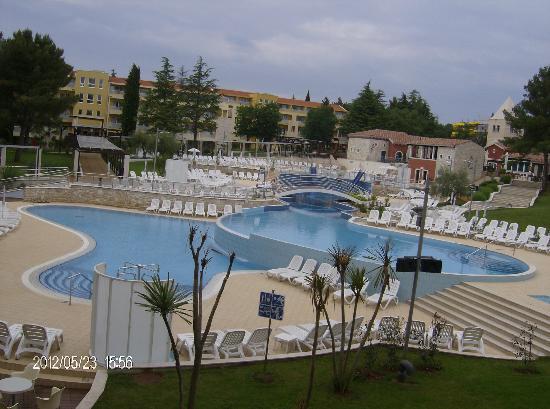 Sol Garden Istra: best view from room by day