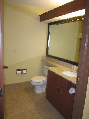 Chinook Winds Casino Resort: Bathroom - updated and clean