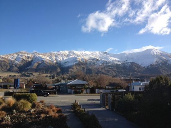 Clearbrook Motel Wanaka: View from our balcony